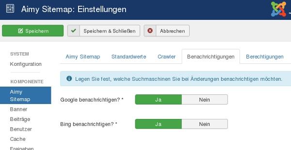 Eine XML Sitemap Fur Ihre Joomla Website Erstellen