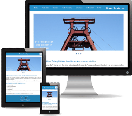 Mobile Webdesign & Responsive Webdesign: Kurz.Training