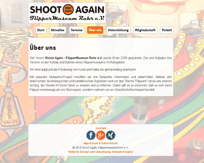Shoot Again - Flippermuseum Ruhr e.V.